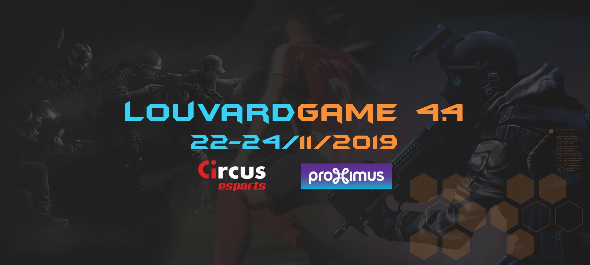 LouvardGame 4.4 - 22-24/11/2019